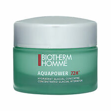 1 PC Biotherm Homme AquaPower 72H Concentrated Glacial Hydrator For Men 50ml