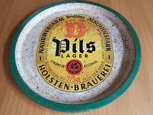 Vintage Pils Lager Holsten-Brauerei Deutsches Pub Bar tray (3) - Collectable