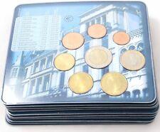 10 Sätze Luxemburg KMS 2002 Euromünzensatz 1 Cent - 2 Euro im Blister