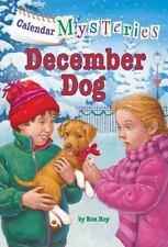 Calendar Mysteries #12: December Dog (A Stepping Stone Book(Tm)-ExLibrary
