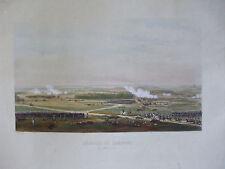 gravure originale napoleon craonne  vers 1850 yung  rouargue
