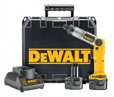 DEWALT 1/4-Inch 7.2-Volt Cordless Two-Position Screwdriver Kit, DW920K-2, New