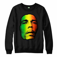 Bob Marley Jumper, Hip Hop Jamaican Singer Songwriter Adult & Kids Jumper Top