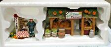"Dept56 New England Village Series ""Farmer's Market"" Set of 2"
