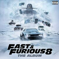 FAST AND FURIOUS 8 THE ALBUM SOUNDTRACK CD  BRAND NEW SEALED <<