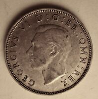 1940 GREAT BRITAIN SILVER 1 FLORIN .1818 ASW Priced Right Shipped FREE R20