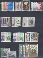 TURKEY 1938 65 COLLECTION OF 67 MINT COMPLETE SETS ALL MINT NEVER HINGED