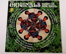 ORIGINALS ... Baby I'm For Real ... from 1969 on GORDY SS 716 ... EX COPY