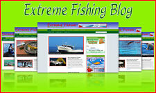 Extreme Fishing Tips Blog Self Updating Website - Clickbank Amazon Adsense Pages