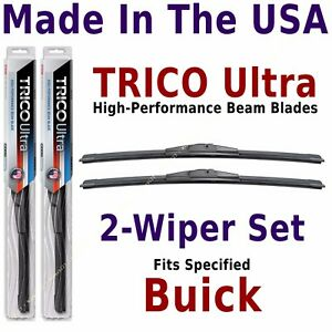 Buy American: TRICO Ultra 2-Wiper Blade Set: fits listed Buick: 13-16-16