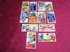 """BROOKE BOND TEA VINTAGE PICTURE CARDS - FULL SET - """"TEENAGE MUTANT HERO TURTLES"""""""