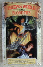 BLOOD TIES PB Ace Fantasy Classic Thieves World 9 (2nd Printing)
