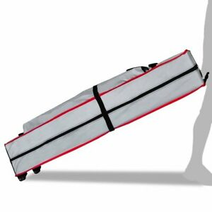 Eurmax Heavy Duty Wheeled Bag Pop up Canopy Tent Universal Rolling Storage Bag w