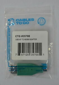 Cables To Go USB Type A Female To PS/2 Male Adapter CTG #35700