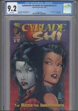 Cyblade/Shi: The Battle for Independents #1 CGC 9.2 1st App Witchblade (Pezzini)