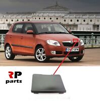 FOR SKODA FABIA 07-10, ROOMSTER 06-10 NEW FRONT BUMPER CENTER GRILL COVER LEFT