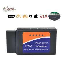 ODB-II ELM327 Auto Moto diagnosi reset Scanner WIFI OBD2 Per iPhone iPad Android