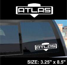 "Borderlands 2 / Pre-Sequel ""Atlas"" Gun Manufacturer Sticker Decal"