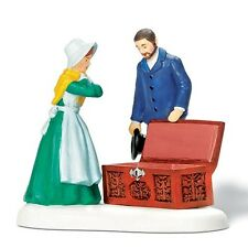 Dept 56 Retired The New England Snow Village Hope Chest Marriage Wedding Trinket