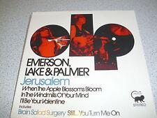"""Emerson, Lake & Palmer - Jerusalem - 7"""" Single Vinyl ///// Neu & OVP"""
