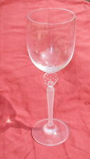 """MIKASA MOONLIGHT FROST 10 3/4"""" FLUTED CHAMPAGNE GOBLET"""