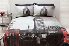 Queen Bed Quilt Doona Cover Set London  UK Big Ben United Kingdom SALE