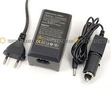 EU Plug Battery Car Charger FOR Canon NB10L NB-10L PowerShot SX40 SX50 HS G16 15