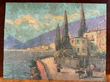 vintage old 1930s Perfect PIcture PUzzle Sunny Harbor 300 + pieces
