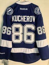 Reebok Premier NHL Jersey Tampa Bay Lightning Nikita Kucherov Blue sz M