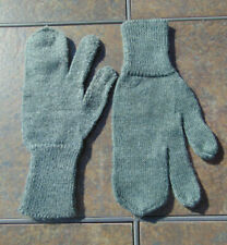 Swiss Wool Cold Weather Trigger Finger Mittens/Ski Gloves,Sz. M/XL,NOS,Free ship