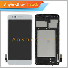 For LG MS210 Aristo LTE LG K8 2017 Touch Digitizer+Lcd Display Assembly +Frame