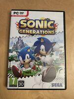 Sonic Generations - PC DVDROM Game