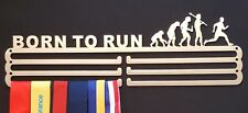 Medal Hanger/Holder/Display/Rack- *BORN TO RUN*  Steel, STORE 36 MEDALS