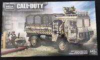 Mega Construx Call Of Duty Transporte Camión FVG06 Extemely Raro & Htf