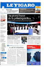 Le Figaro 5.4.2017 N°22598*PRÉSIDENTIELLES-BAZAR*Général SOUBELET*RENSEIGNEMENTS