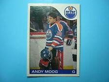 1985/86 O-PEE-CHEE NHL HOCKEY CARD #12 ANDY MOOG NM SHARP!! 85/86 OPC