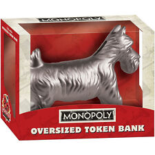 USAopoloy Monopoly Dog Oversized Token Bank - NEW