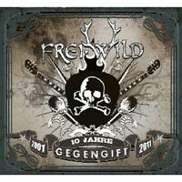 """FREI.WILD """"GEGENGIFT (10 JAHRE JUBILÄUMSEDT.)"""" 2 CD+DVD"""