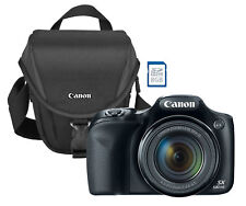 NEW Canon PowerShot SX530 16MP CMOS 50x Zoom Wi-Fi Camera w/ 8GB SDHC and Case