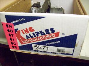 Disc Brake Caliper Front Right King Kaliper 6571