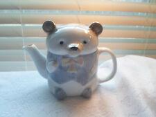 Collectible Tea Pot Teddy Bear Excellent