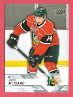 2018-19 Jared McIsaac Upper Deck CHL Rookie - Detroit Red Wings