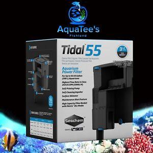 NEW Seachem Tidal Power Filter 55 Made by SICCE Fish Tank Aquarium salt & Fresh