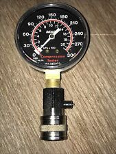 New Listingvintage Sears 300psi Engine Compression Tester Car Truck Motorcycle Tractor Usa