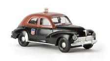 """Brekina 29054 -  1/87 Peugeot 203 """"Taxi G7"""" Von Drummer - Neu"""