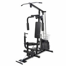 Home Fitness Multi Gym Bench Utility Strength Equipment Weights Machine✓