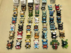 RARE LOT OF 43 MIXED DUNNY from SERIES 3 4 5 AZTECA FRENCH KIDROBOT