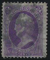 US Stamps - Sc# 153 - Sound - Excellent Color, Impression & Centering!   (A-018)