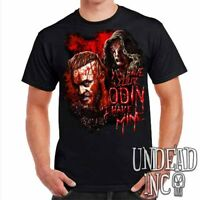 Vikings Ragnar & The Seer - Odin - Tv series Mens T Shirt