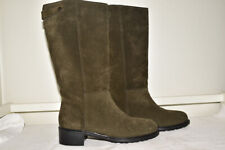 Vince Suede Olive Boots Made Italy Women's EU 41.5 / US 10 M